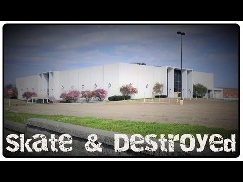 Abandoned Dead Mall : Mellett / Canton Centre : Urban Exploration Series Skate & Destroyed Episode 2