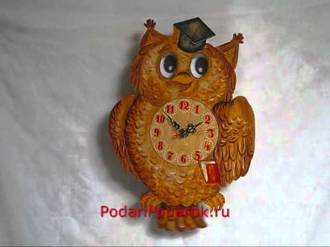 Детские настенные часы Сова Бризоль