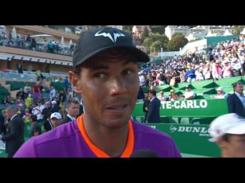 Rafael Nadal Post-match Interview / SF Monte-Carlo Masters 2017