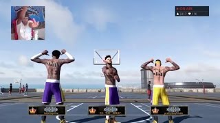 Roblox's Savage Squad Hoopers!!! | 2K MyPark™