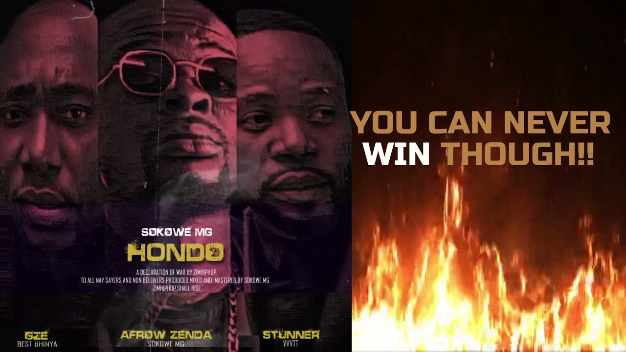 Download Sokowe MG _ HONDO (Lyric Video) ft GZE ,STUNNER & AFROW ZENDA (BEST ZIM HIPHOP 2021)