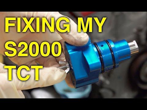 Fixing A Common Honda S2000 Problem - Timing Chain Tensioner