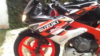 Repeat youtube video SUZUKI SATRIA 2 tak di Rangka SUZUKI FXR-FXR 2 tak