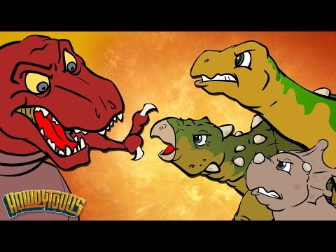 Best Dino Songs #1 | Dinosaur Battles and More Dinosaur Songs from Dinostory by Howdytoons