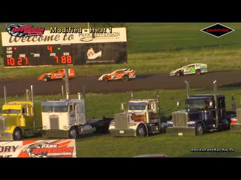 Stock Car/Modified Heats - Park Jefferson Speedway - 6/9/18