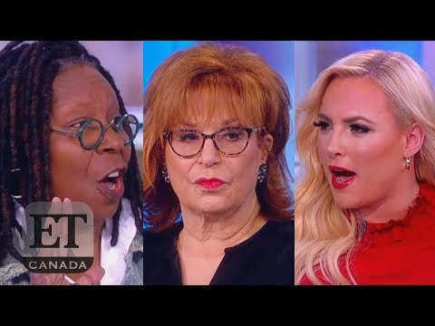 Whoopi Stops Meghan And Joy Fight On 'The View'