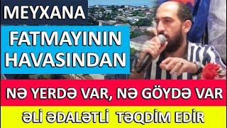 Yeni Muzikalni Meyxana Fatmayi Toyu (Fatmayninin havasindan ne yerde var ne goyde var)
