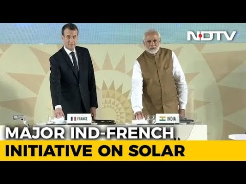 At Solar Meet Attended By Macron, PM Modi's 10-Point Action Plan