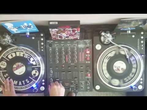 "Gorillaz The Singles Collection 7"" vinyl Dj set"