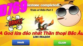Dragon mania legends Boss Đảo Rồng Huyền Thoại ngày 769