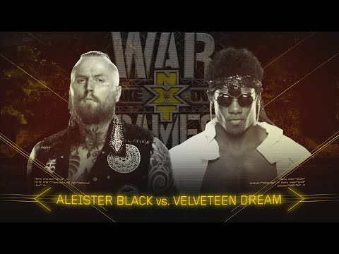 Velveteen Dream vows to make Aleister Black say his name at TakeOver: WarGames
