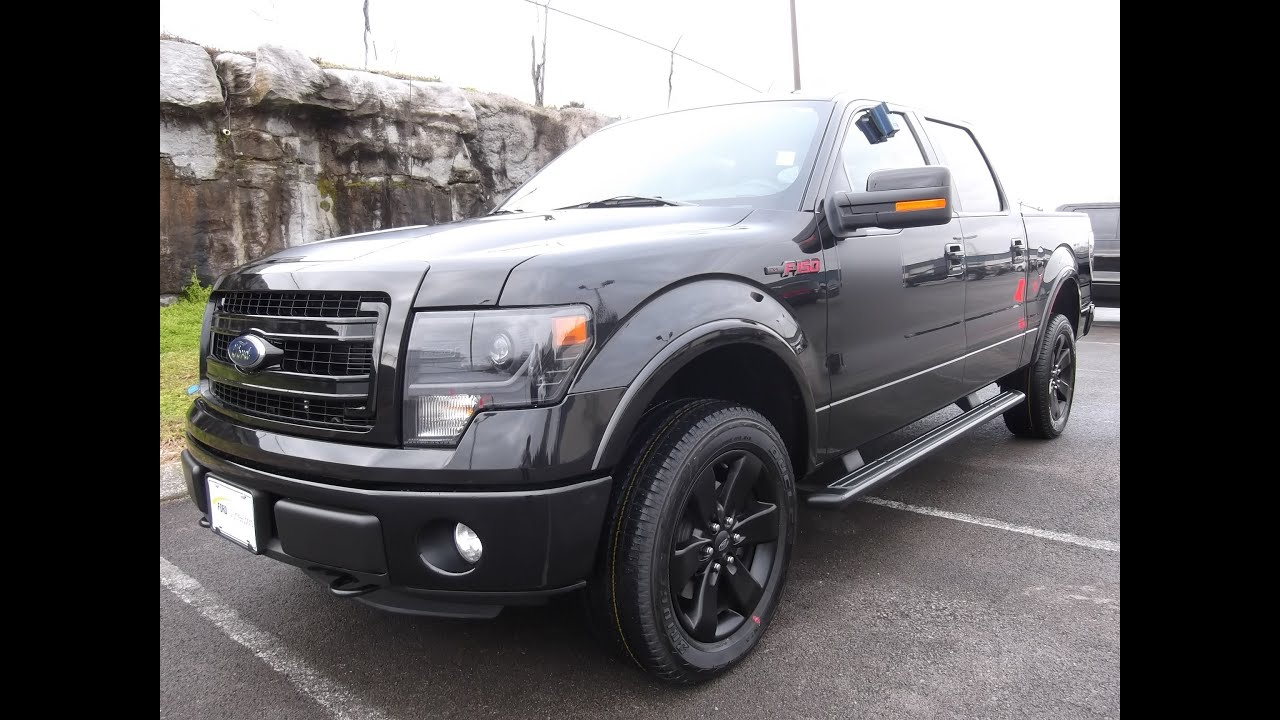 2013 ford f 150 fx4 leveled and lifted trucks edwards ford - 2013 Ford F 150 Supercrew Fx4 Appearance Package Tuxedo Black 5 0 402a Sony Navigation 888 439 1265 Youtube
