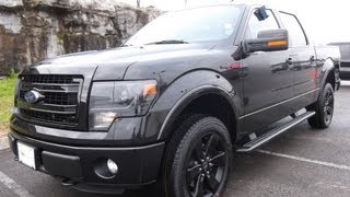2013 FORD F-150 SUPERCREW FX4 APPEARANCE PACKAGE TUXEDO BLACK 5.0 402A SONY NAVIGATION 888-439-1265