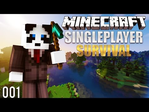 Minecraft Survival Lets Play: Ep. 1 - Beautiful Spawn