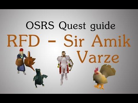 [OSRS] RFD - freeing Sir Amik Varze
