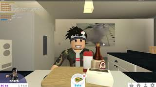 Roblox of beginning sadly at Bloxburg slocal lol markogamer vari in Bloxburg