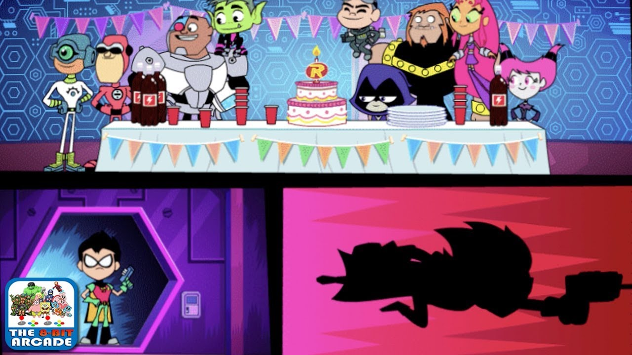 Teen Titans Go: Power Tower – Surprise Bday Party Ruined (Cartoon Network Games)