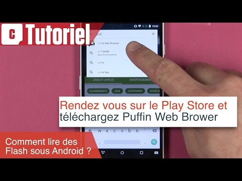 Tuto : comment lire du Flash sur Android avec Puffin Web Browser