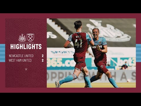 EXTENDED HIGHLIGHTS | NEWCASTLE UNITED 2-2 WEST HAM UNITED