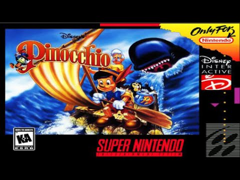 Image result for Pinocchio SNES