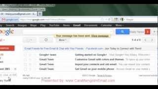 Cara Baru Mengirim Email di Gmail | Lampiran file, gambar, foto, dokumen dll.