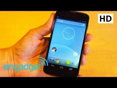 Google Nexus 4 hands-on | Engadget