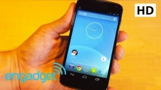 Google Nexus 4 Hands On | Engadget