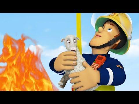 Brandmand Sam Dansk 2017 | Brandmand Sam sparer dagen - 1 times kompilering | Tegneserie til Børn