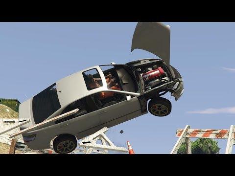 GTA 5 CAR CRASH COMPILATION!!! thumbnail
