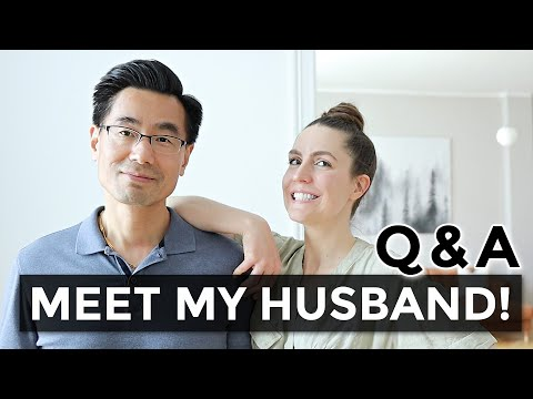 Couple Q&A 🥰 | growing up poor, his TRUE feelings about minimalism, life as an AMWF family, & more!