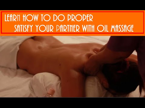 Best Age Learn How To Massage Your Partner
