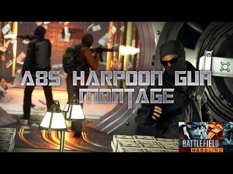 A8S Harpoon Gun Battlefield Hardline Montage