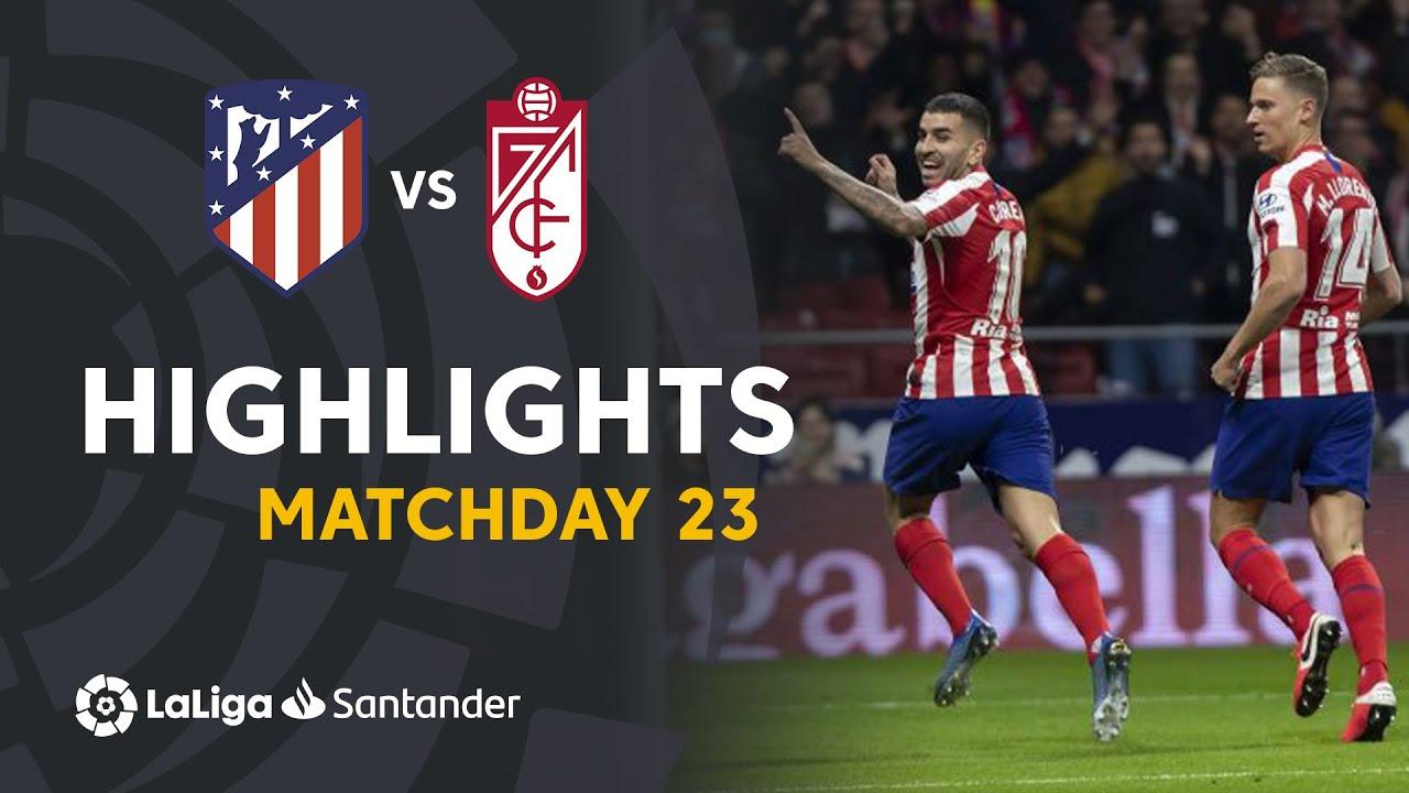 Атлетико  1-0  Гранада видео