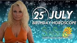 Birthday July 25th Horoscope Personality Zodiac Sign Leo Astrology