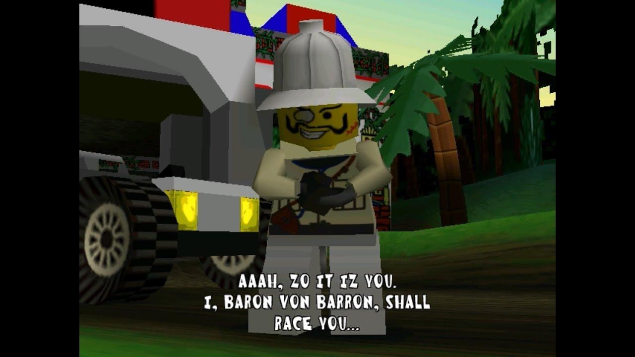 LEGO Racers Baron Von Barron  YouTube