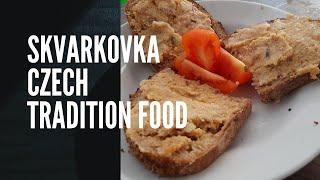 Cara Membuat Skvarkovka Masakan Tradisional Ceko | Skvarkovka Czech Republic Tradition Food