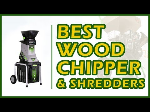 6 Best Wood Chippers & Shredders For Garden & Lawn Use Reviews 2018