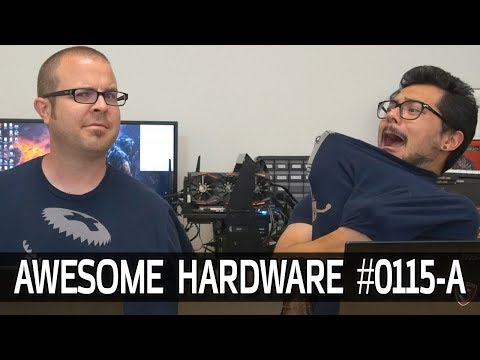 Awesome Hardware #0115-A: 7980XE Launch Date, Coffee Lake Buzz, Kyle's NEW Office!
