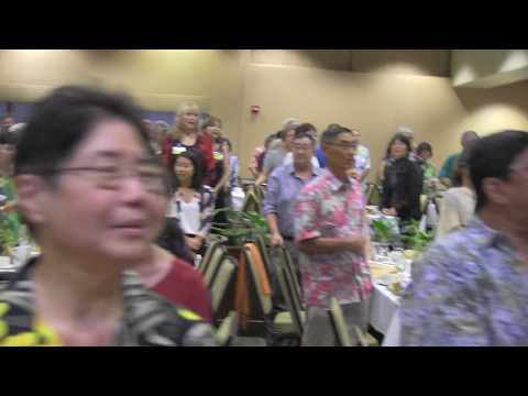 Classmates Singing Hawaii Ponoi - Official State of Hawaii Song