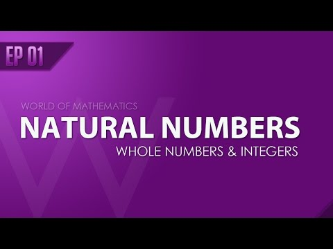 EP 01 - Introduction to Numbers - Natural Numbers, Whole Numbers and Integers (Hindi/English)