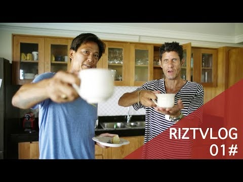 RIZTVLOG 01#MIKE-D of BeastieBoys is in da house