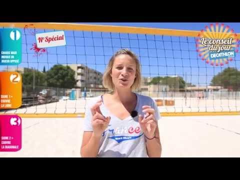 A quoi sert les signes au beach volley ?