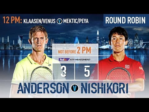 Anderson Looks To Remain Undefeated At Nitto ATP Finals 2018 Against Nishikori