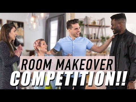 Design Vs. Design — Room Makeover Competition!