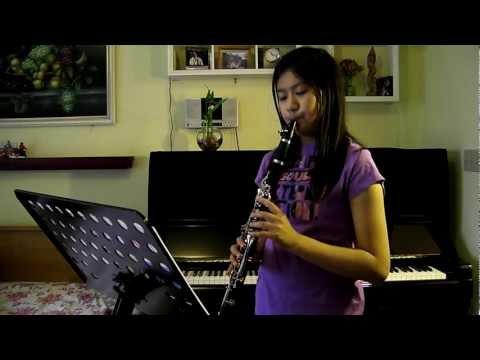 A Whole New World Clarinet From Walt Disneys Aladdin  With lyrics and notes