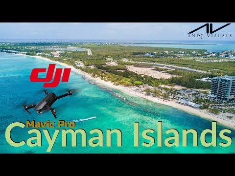 DJI Mavic Pro in the Cayman Islands