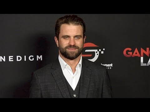 """Milo Gibson """"Gangster Land"""" Premiere Red Carpet"""