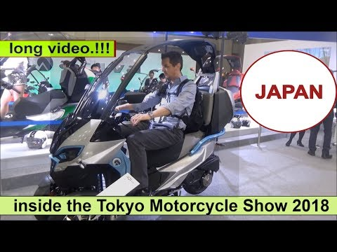 The Tokyo Motorcycle Show 2018 (JAPAN)
