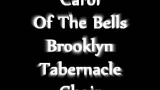 carol of the bells medley -- brooklyn tabernacle choir