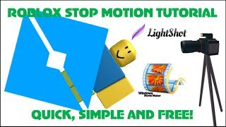 How to make a Roblox Stop Motion Film! Quick, Easy & FREE